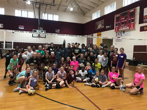 First Annual Lady Seminole Youth Camp