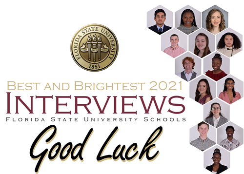 Good Luck to FSUS Best & Brightest