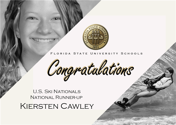 Kiersten Cawley Qualifies for Interscholastic Equestrian and USA Waterski Nationals