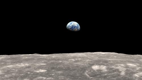 The Earth from the Moon